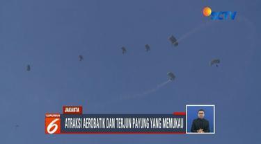 TNI AU pamerkan atraksi akrobatik alutista di Halim Open Day 2019.