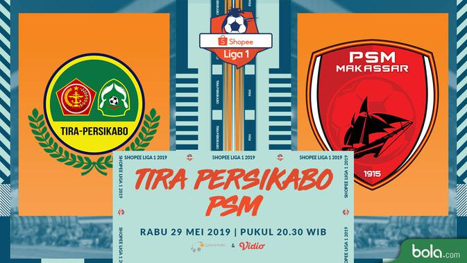 Live Streaming Shopee Liga 1 TIRA Persikabo vs PSM Makassar di O Channel 2