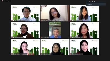 Press Briefing Muda Bersuara 2021: Selamatkan Generasi Emas 2045 dari Krisis Iklim pada Kamis (29/7/2021).