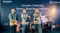Targetkan penjualan SBR004 Rp 250 miliar, BRI Gelar Investor Gathering di Tanjung Pinang.