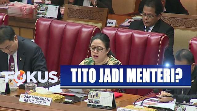 Mabes Polri belum mengambil langkah terkait rencana pengangkatan Kapolri Jenderal Tito Karnavian menjadi menteri.
