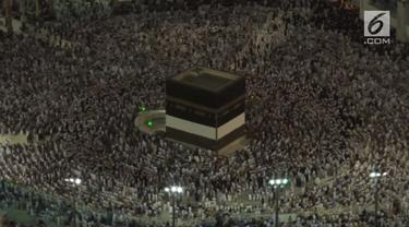 2 juta calon haji mengelilingi Kakbah dalam rangkaian ibadah Haji 2018. Tahun ini lebih dari 200.000 calon haji berangkat dari Indonesia.