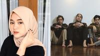 Potret kedekatan Diandra Marsha bareng Al, El dan Dul. (Sumber: Instagram/@diandramarsha/@elelrumi)
