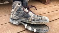 Sepatu rusak akibat cuaca panas di Grand Canyon (Dok.NPS/Twitter)