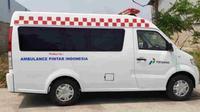 DFSK memodifikasi pikap Super Cab menjadi ambulans. (DFSK)