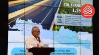 Menteri PUPR  Basuki Hadimuljono bicarakan rencana bangun hunian vertikal yang terintegrasi dengan pasa tradisional.