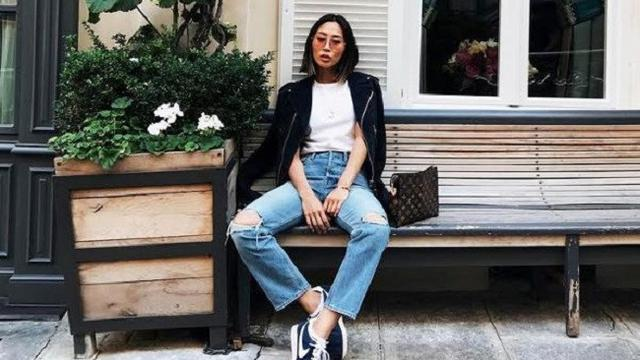 Padu Padan Celana Jeans Robek Ala Fashion Blogger Fashion Beauty