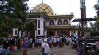 makam Syaikhona Kholil Bangkalan selalu ramai peziarah