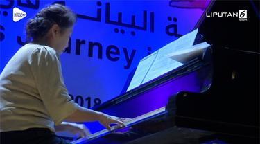 Satu-satunya grand piano di jalur Gaza berhasil diselamatkan. Setelah 10 tahun akhirnya publik Gaza kembali bisa menikmati alunan musik piano.