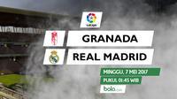 La Liga_Granada vs Real Madrid (Bola.com/Adreanus TItus)