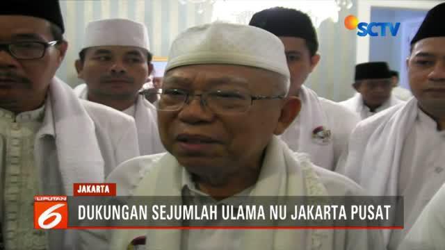 Kepada mereka, Ma'ruf Amin kembali berpesan untuk tetap menjaga keutuhan Negara Kesatuan Republik Indonesia (NKRI) dan meminta semua elemen untuk menghindari upaya perpecahan.