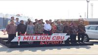 Peluncuran ekspor 1 juta CBU Toyota (Foto:Merdeka.com/Dwi Aditya Putra)