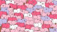 Konon, ada cinta di antara kawanan gajah. Di mana, ya? (Sumber foto: thedudolf.blogspot.co.id)