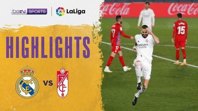 Berita video, Real Madrid kalahkan Granada 2-0 dalam lanjutan Liga Spanyol pekan ke-15