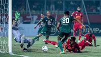 Duel Kalteng Putra vs Persebaya di Stadion Tuah Pahoe, Palangkaraya (13/9/2019). (Bola.com/Dok. Persebaya)