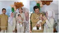 Potret kebersamaan orang tua Cut Meyriska bareng cucu. (Sumber: Instagram/@ir.suryadi_ak)