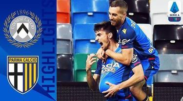 Berita video highlights partai seru Liga Italia 2020/2021 pada pekan keempat, yaitu saat Udinese menang atas Parma 3-2, Minggu (18/10/2020) malam hari WIB.