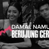 Perceraian Nicky Tirta dan Liza Elly yang terkesan mendadak. (Foto: Instagram Desain: Muhammad Iqbal Nurfajri/Bintang.com)