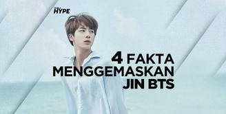 4 Fakta Menggemaskan Jin BTS
