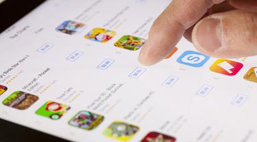 Aplikasi di smartphone
