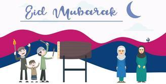 Bulan Ramadan telah berlalu dan hari kemenangan telah tiba.