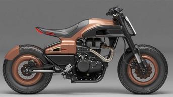 Imajinasi Builder dalam Membuat Motor Kustom Berbasis Royal Enfield Meteor 350
