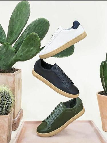 Sepatu Sneakers Vegan Berbahan Kaktus, Diklaim Pertama di Dunia