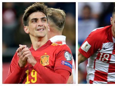 Persaingan para striker di Euro 2020 (Euro 2021) menarik untuk ditunggu. Seluruh 24 tim tentunya memiliki andalan untuk menjebol gawang lawan. Berikut 5 striker yang berpotensi membuat kejutan berkaca pada raihan mereka di klub musim ini yang mungkin tak terpantau. (Kolase Foto AFP)