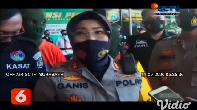 Satresnarkoba Polres Pelabuhan Tanjung Perak Surabaya, menangkap 46 tersangka dengan barang bukti total 8,5 kilogram. Sementara dalam 2 pekan, Operasi Tumpas Semeru, Polres Jombang menangkap 17 pelaku narkoba dari 13 kasus.