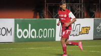 Playmaker andalan Persija, Bruno Matos, memborong dua gol kemenangan atas PSS dalam Piala Presiden 2019 di Stadion Maguwoharjo, Sleman, Jumat (15/3/2019). (Bola.com/Vincentius Atmaja)