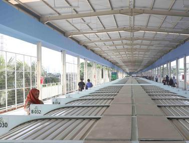 Skybridge Tanah Abang Mulai Diuji Coba