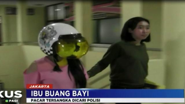 Tim Reskrim Polsek Tanjung Priok masih menelusuri keberadaan pacar seorang wanita yang membuang bayinya di kawasan Sunter, Jakarta Utara.