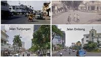 Potret Perbandingan Jalanan Zaman Dulu Vs Sekarang di Surabaya, Bikin Nostalgia (sumber:Instagram/ndonesia_tempo_doeloe)