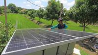 Kementerian Ketenagakerjaan meningkatkan kompetensi bagi instruktur bidang energi terbarukan Pembangkit Listrik Tenaga Surya (PLTS) (Istimewa)