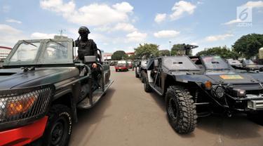 Apel Patroli Skala Besar TNI-Polri Amankan Pemilu 2019
