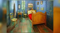 Ingin merasakan 'melihat sekeliling' melalui mata Vincent Van Gogh? Anda tinggal menghubungi Airbnb.