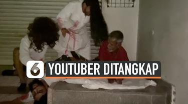 Prank hantu yang dilakukan YouTuber di India ini berakhir tragis. Mereka yang berjumlah tujuh orang tersebut ditangkap polisi setelah membuat warga resah.