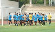 Timnas Indonesia mulai berlatih di lapangan Stadion Madya, Jakarta, Jumat (7/8/2020). (Dok PSSI)