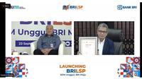 Direktur Utama BRI menerima Sertifikasi Lisensi LSP BRI dari Badan Nasional Sertifikasi Profesi (BNSP).