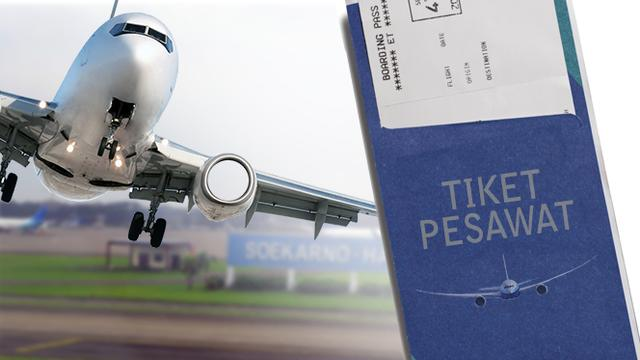 Pemerintah Desak Maskapai Turunkan Harga Tiket Pesawat Ini Respons