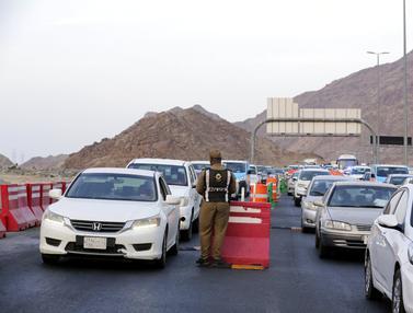 Kendaraan yang Masuk Makkah Diperiksa Ketat Jelang Haji