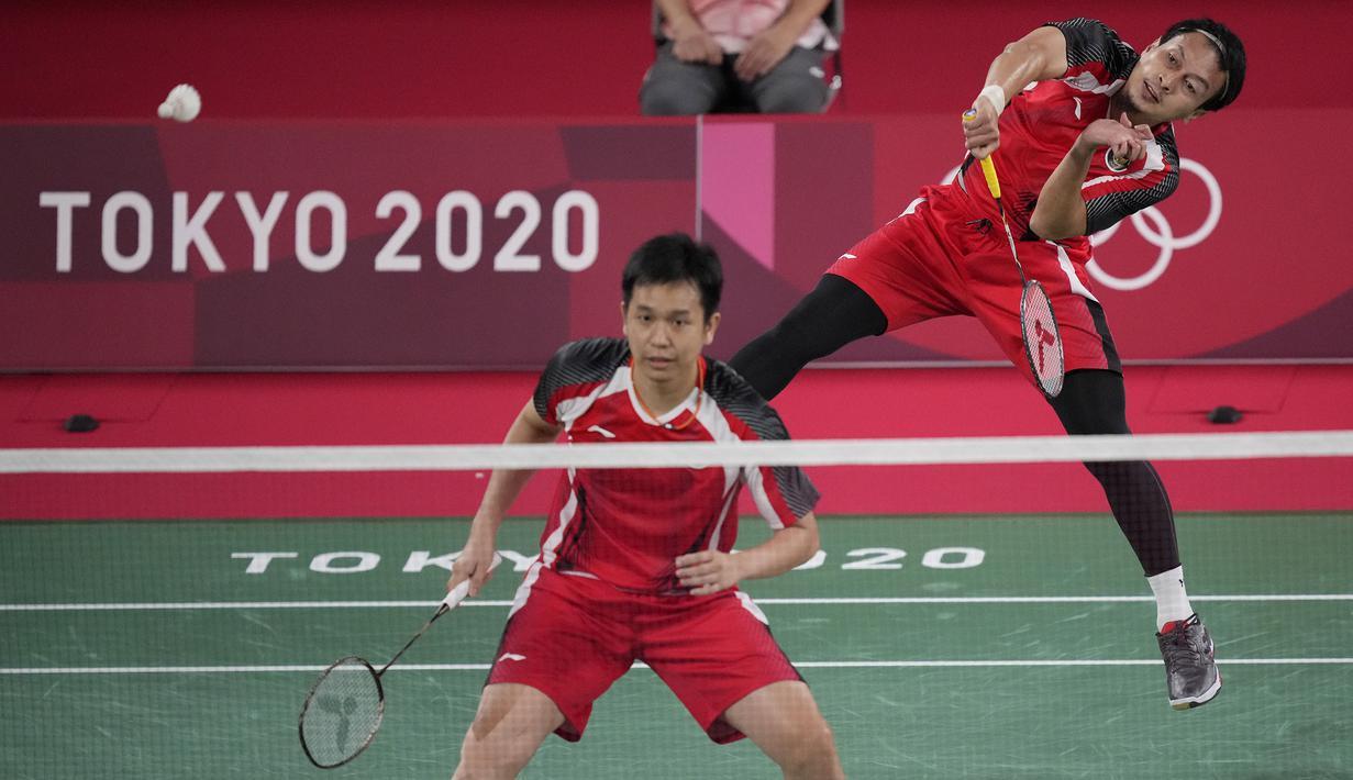 Foto: Ahsan/Hendra Susul Marcus/Kevin ke Perempatfinal ...