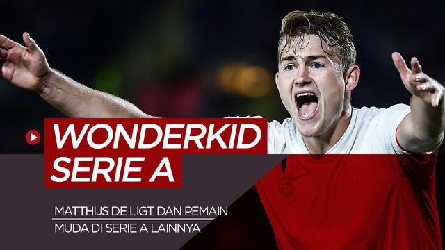 Berita motion grafis Matthijs de Ligt dan 4 wonderkid Serie A musim ini.
