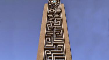 Gedung Pencakar Langit dengan Labirin Vertikal Terbesar di Dunia