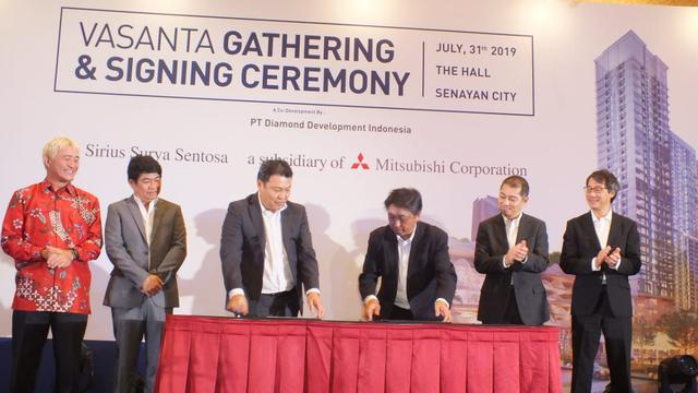 Vasanta Group Gandeng Mitsubishi Corp Bangun Hunian Bernuansa Jepang