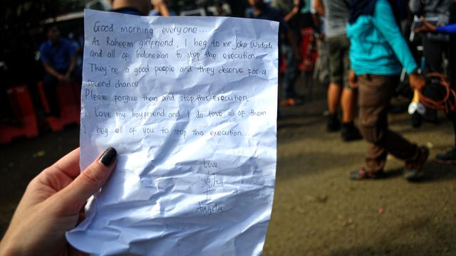 Spain Inmate Girlfriend Writes Dramatic Letter To Jokowi Global