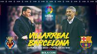 La Liga - Villarreal Vs Barcelona - Head to Head Pelatih (Bola.com/Adreanus Titus)