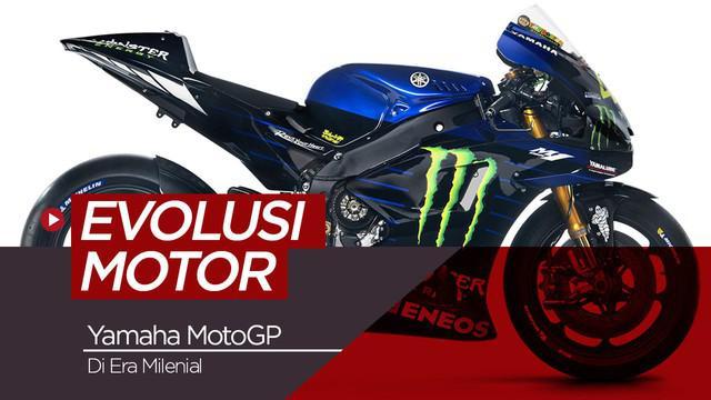 Berita video evolusi motor Yamaha MotoGP di era milenial