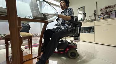 Ilustrasi Disabilitas Bekerja
