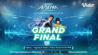 GoPay Arena Championship Grand Final PUBG Mobile di Vidio. (Sumber: Vidio)
